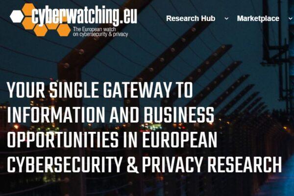Lanzamiento de la nueva web del Proyecto Cyberwatching