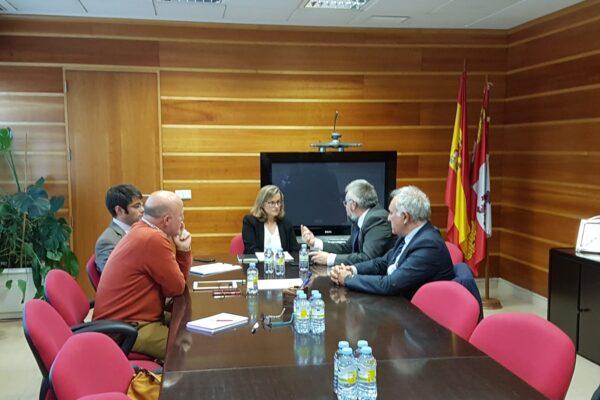 Segunda reunión con la Directora General de Telecomunicaciones y Transformación Digital