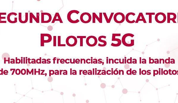 Presentación de propuestas para la realización de pilotos 5G a la DG de Telecomunicaciones y Transformación Digital